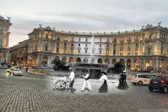 Lavoro e passeggio a Piazza Esedra http://www.romaierioggi.it/lavoro-e-passeggio-a-piazza-esedra/