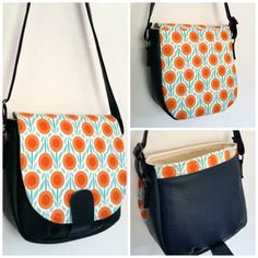 The perfect bag, not too big, not too small! I want to make one like that!