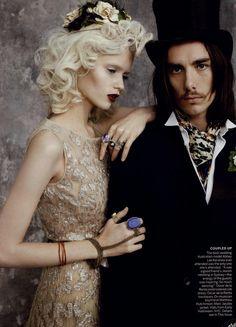 Vogue Editorial Across The Aisle, April 2011 Shot #3
