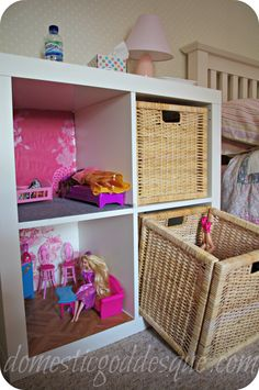 Come fare una Barbie House da un scaffale Ikea Expedit