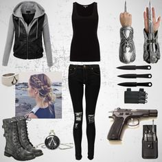 Assassin girl/ Assassin's Creed modern