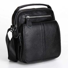 Genuine Leather Travel Messenger Bags