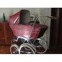 Image result for coche de bebe antiguo Pram Stroller, Baby Strollers, Vintage Pram, Prams And Pushchairs, Baby Carriage, Baby Dolls, Retro, Pink, Bebe