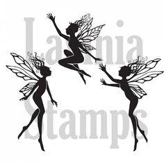 Lavinia clear stamp Dancing Fairies (Tanja)