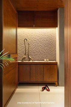 Wooden Partition Design, Wooden Wall Design, Wooden Partitions, Living Room Partition Design, Room Partition Designs, Small Balcony Design, Small House Interior Design, Interior Design Photos, Home Room Design