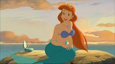 Ariel's mother, Queen Athena.
