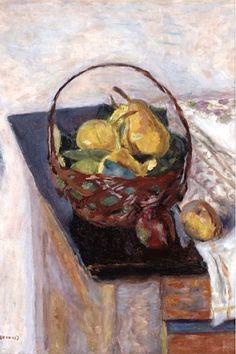 Pierre Bonnard - The Basket of Fruit, 1922