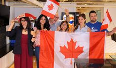 Supporting the Toronto PanAm / ParaPan Am games with our Canadian gear! Go team Canada Go!