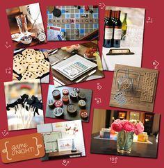 Perfect Party Theme: Vintage Game Night : Favor Affair Blog
