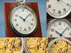 POLJOT KIROVSKIE 1MChZ RUSSIAN DECK CLOCK NAVY BOAT/SHIP MARINE CHRONOMETER EXC+ #Poljot1stMoscowWatchFactory