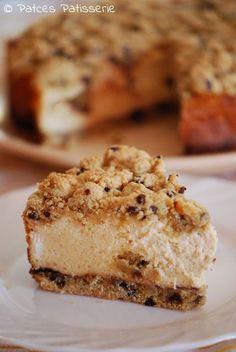 Cookie Dough Cheesecake [Käsekuchen mit Keksteig]