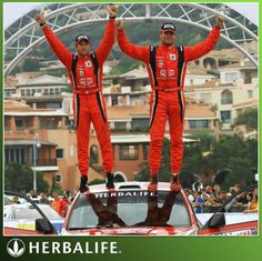 WOW, last weekend, Oct. 21, Herbalife Sponsored Rally Driver Nicolas Fuchs Won the Rally Italia- Sardegna!!!   Another Herbalife NO.1  Do what the PROS do!  Take Herbalife24 Sports Nutrition products! ORDER NOW!  www.verywellness.com