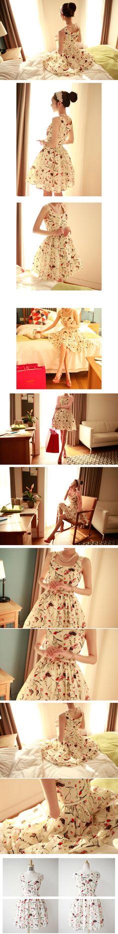 chic-su) メイクアップワンピース【当日発送可】★4次入荷 - 韓国ファッション通販【セレクトショップKii-Na】キーナ