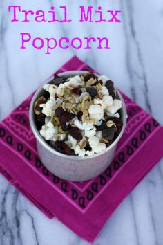 Trail Mix Popcorn by