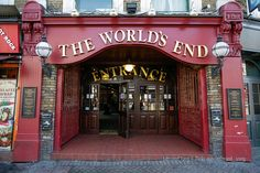The World's End Pub / London. Of all the pubs I went to, this one was hands down my favorite.