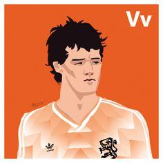 V is for Marco van Basten. #atoz #tpitr