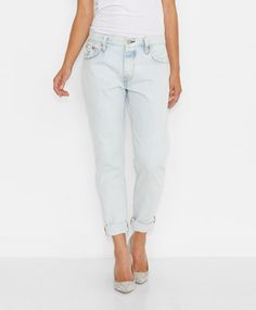 Levi's 501® CT Jeans for Women - Rolling Fog - Boyfriend