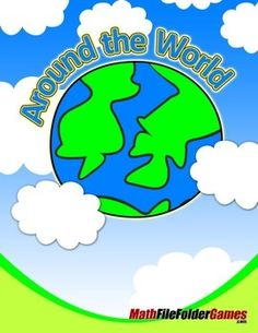 Around the World Math Game http://www.teacherspayteachers.com/Product/Around-the-World-Math-Game-1266863 #FREE  ALSO Check out 50+ #FreeMath resources here: https://www.teacherspayteachers.com/Store/Mathfilefoldergames/Price-Range/Free