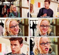 """Legally Blonde """"What, like it's hard? Funny Movies, Great Movies, Iconic Movies, Classic Movies, Tv Quotes, Movie Quotes, Movies Showing, Movies And Tv Shows, Legally Blonde"""