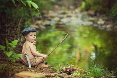 This is how I started fishing...well little older...but just a little