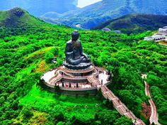 Tian Tan Buddha on Lantau Island (Hong Kong)
