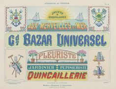 Modèles d'enseignes (Gallica BNF) | on the BNF : gallica.bnf… | Flickr
