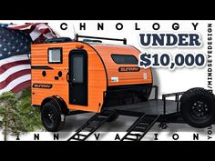 Mini Campers For Sale, Camping Trailer For Sale, Off Road Camper Trailer, Jeep Camping, Small Campers, Rvs For Sale, Camper Trailers For Sale, Pull Behind Motorcycle Trailer, Pull Behind Campers