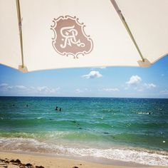 Instagram's rgd3 enjoys some shade at the St. Regis Bal Harbor Resort in Miami.