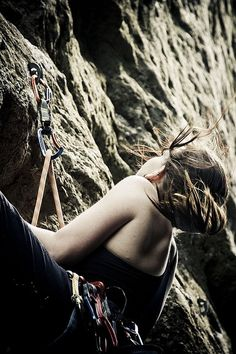 Mornings on the climb..I am in some serious need of some rock climbing time!!