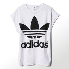 boat lace adidas, adidas Rita Ora T Shirt Damen weiß