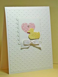 Simple Baby Card