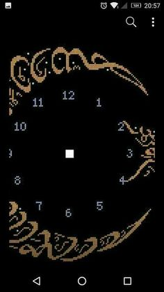 Neşe'nin gözdeleri Islamic Art, Stitch Patterns, Diy And Crafts, Cross Stitch, Embroidery, Diamond, 1940s, Beautiful, Jewelry