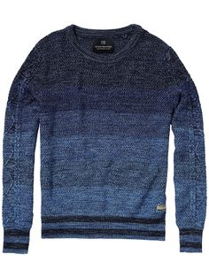 Crew Neck Pullover |Pullover|Men Clothing at Scotch & Soda