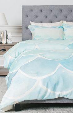 Main Image - DENY Designs Mermaid Scales Duvet Cover & Sham Set
