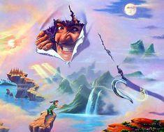 MEGANAKAS HORRORSHOW: A arte surreal de Jim Warren