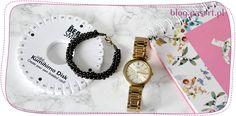 Jak zrobić bransoletkę kumihimo z dwóch rozmiarów koralików? Kurs wyplatania bransoletek na dysku kumihimo Metallica, Bracelet Watch, Bracelets, Blog, Accessories, Blogging, Bracelet, Arm Bracelets, Bangle