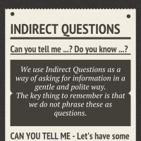 Infographic: Indirect Questions
