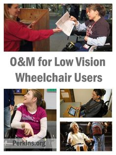 James Scott Crawford, a Certified Orientation and Mobility Specialist, discusses training techniques for low vision users to safely navigate using power wheelchairs, in spaces both indoors and out.