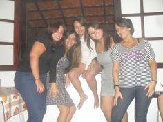Bárbara, Marcele, Laís, Aline