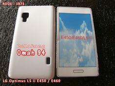 Kode Barang 1873 Jual Silikon Soft Case LG Optimus L5 ii E450 E460 Putih (White) | Toko Online Rame - rameweb