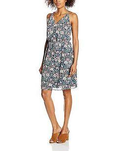 12, Blue - Blau (NAVY 400), ESPRIT Women's Blickdicht Gefüttert Dress NEW