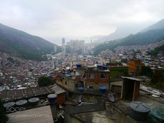 http://500px.com/photo/191367393 Favela in Rio by szirazabierowski -Rocinha (little farm) is the largest favela in Brazil and is located in Rio de Janeiro's South Zone between the districts of São Conrado and Gávea. Rocinha is built on a steep hillside overlooking Rio de Janeiro and is located about one kilometre from a nearby beach. Most of the favela is on a very steep hill with many trees surrounding it. Almost 70000 (census 2010)[2] people live in Rocinha making it the most populous…