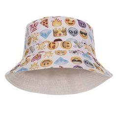8bcb366beb257 Face 100 Design Printed Bucket Hat Face Design