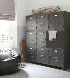 Rafa-kids : Industrial storage ideas for childrens room