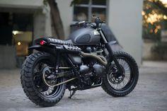 Triumph Bonneville Scrambler ~ Rajputana Custom Motorcycles