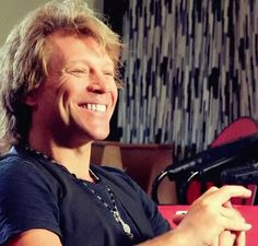 Jon Bon Jovi. SO CUTE.