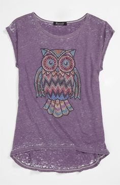 Signorelli 'Owl' Tee (Big Girls) | Nordstrom