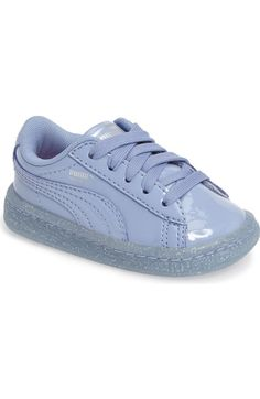premium selection fc2dc 634ec PUMA Basket Iced Glitter Sneaker (Baby, Walker  amp  Toddler) available at