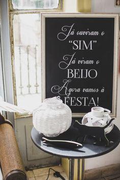 Casamento na Tapada da Ajuda, em Lisboa - detalhes na decoração
