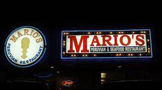 Mario's Peruvian Restaurant  Best Peruvian food I've ever had!